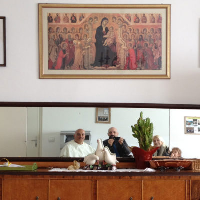 L'incontro con Don Pablo il prete subacqueo
