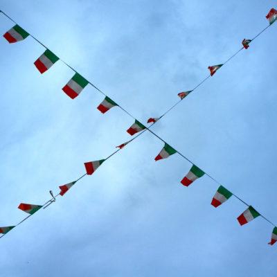 Foto dell'Adunata degli Alpini a Bolzano