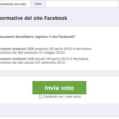 Facebook, il voto, la privacy, il nuovo profilo e il ragioner Fantozzi (in vacanza).