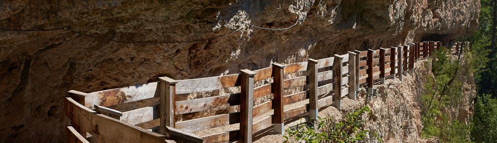 Percorso nella roccia San Romedio – Val di Non
