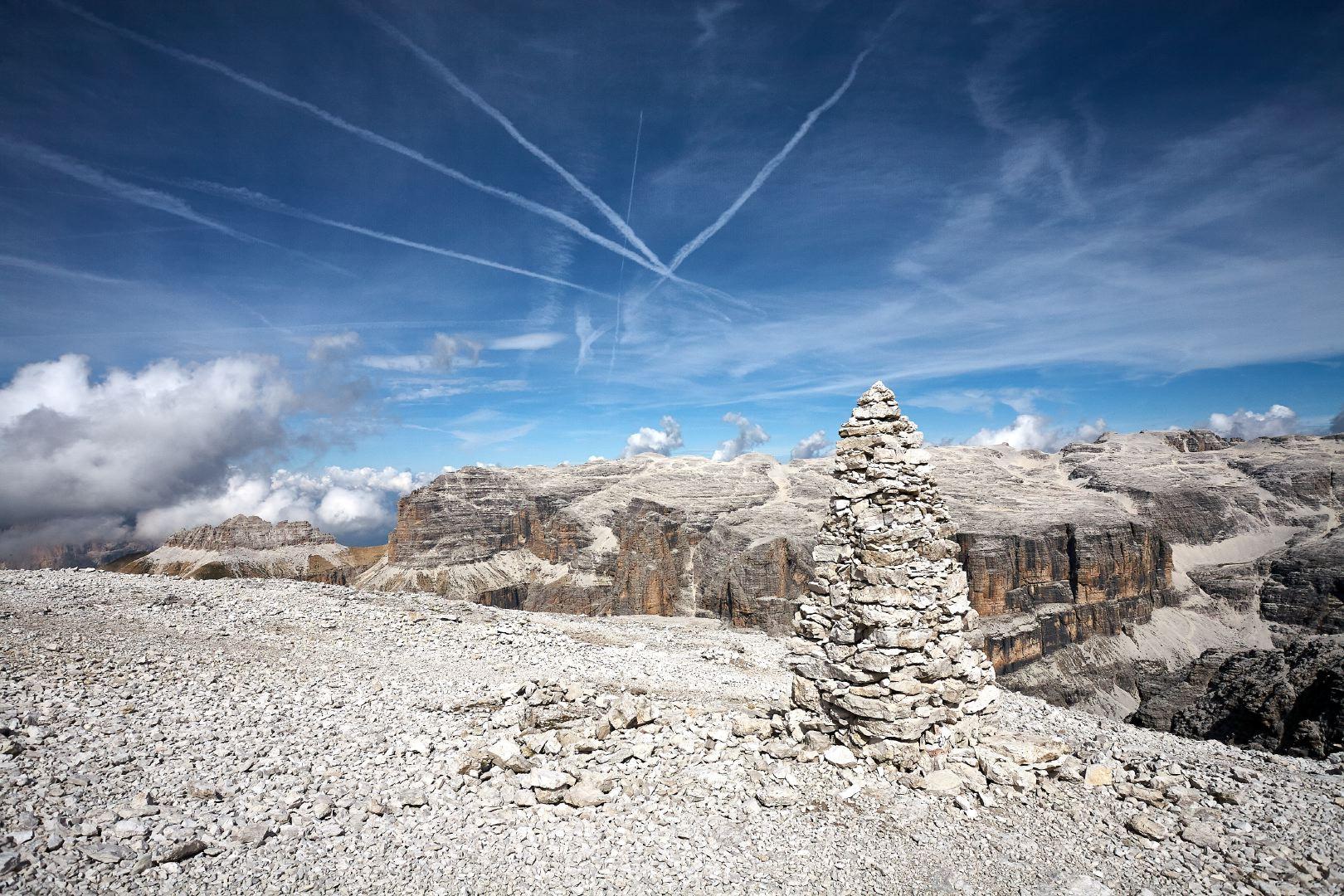 Nuove foto: escursione al Sass Pordoi e Piz Boè
