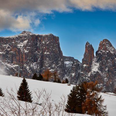 Nuovo foto racconto: Escursione all'Alpe di Siusi con la neve